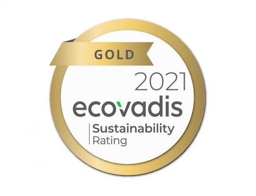 Cenova is rated as GOLD in EcoVadis Supplier Sustainability Rating
